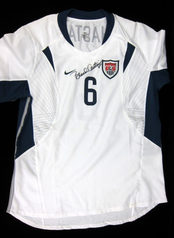 19: Brandi Chastain Autographed Soccer Jersey