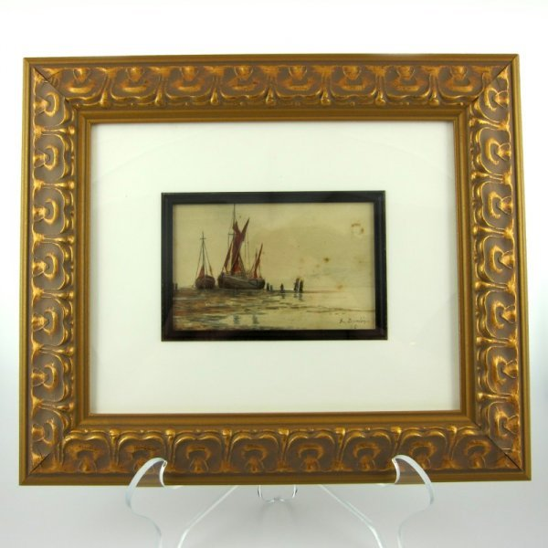 23: Eugene BOUDIN (Attr) Watercolor
