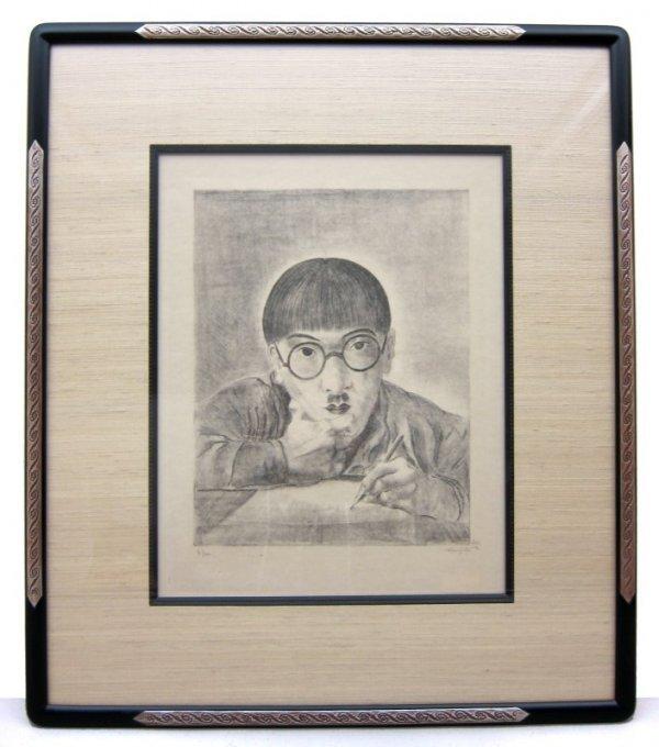 249: Tsuguharu FOUJITA Lithograph