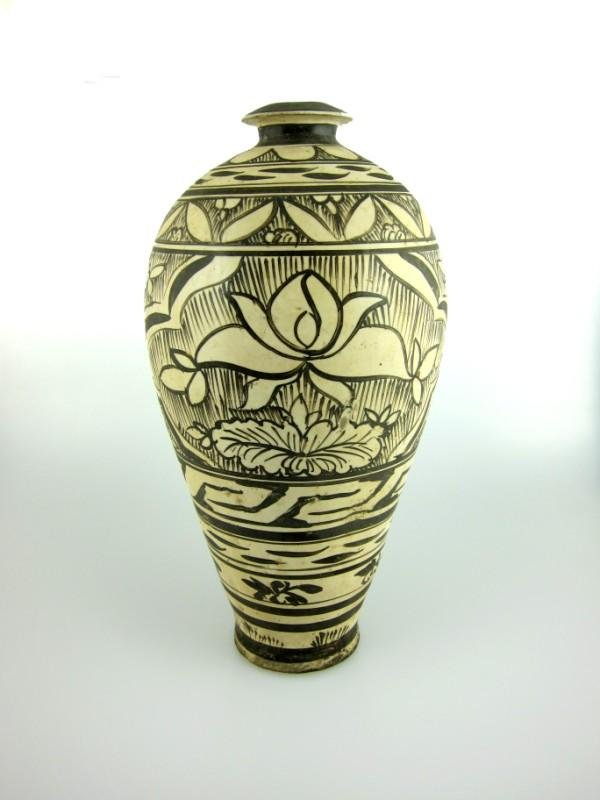6: Chinese Tz'u-Chou Pottery Vase