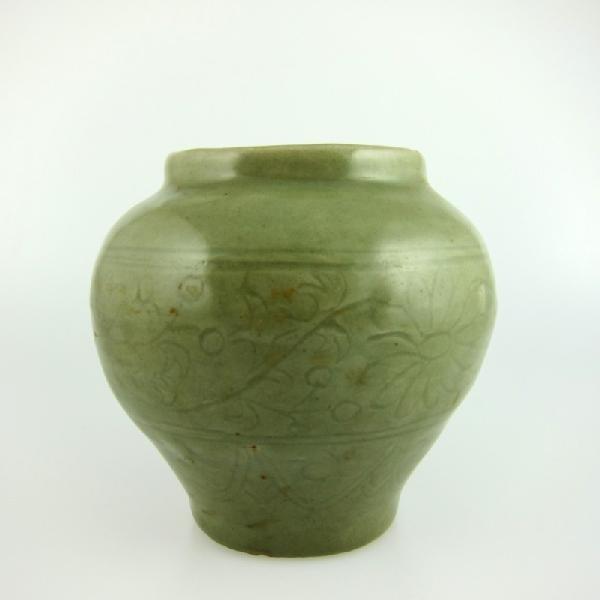 9: Chinese Celadon Jar