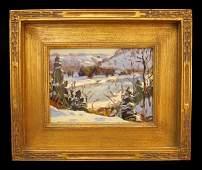 113 George Gardner SYMONS 18631930 Oil Painting