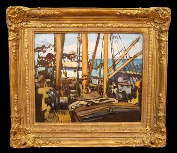 115: Alson Skinner CLARK (1876-1949) Oil Painting