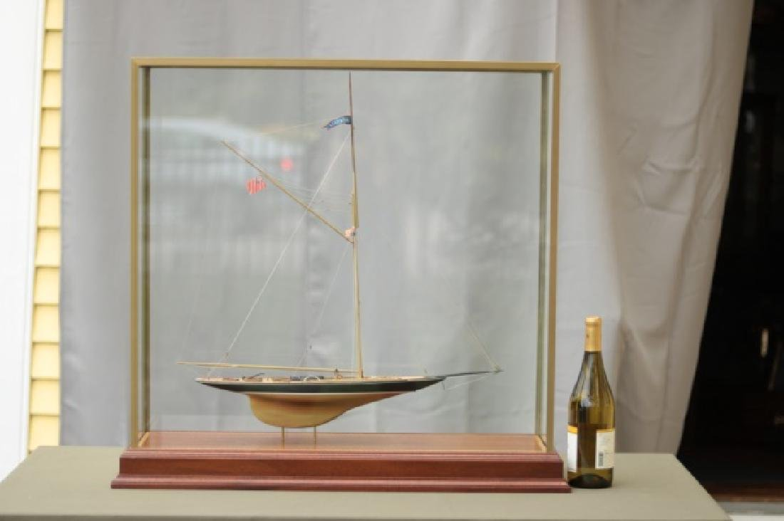 Hitchcock Yacht Model of Britannia. - 10