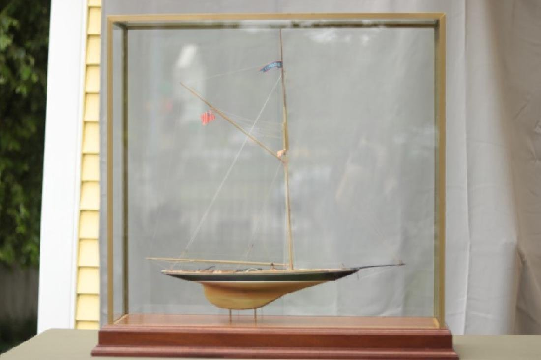 Hitchcock Yacht Model of Britannia.