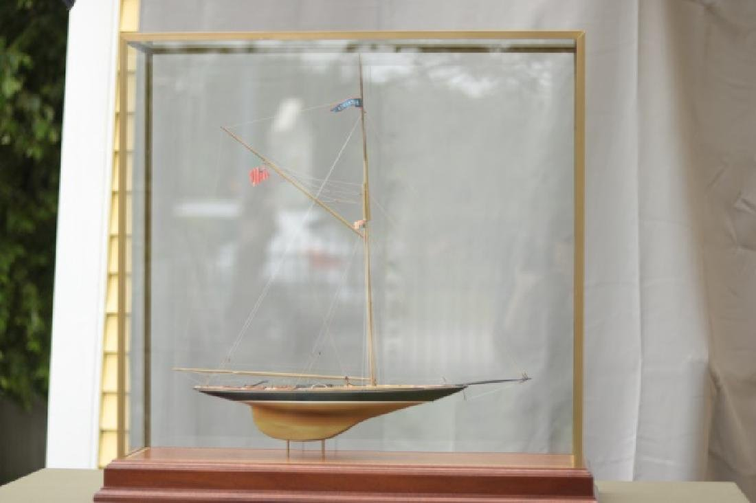 Hitchcock Yacht Model of Britannia. - 3