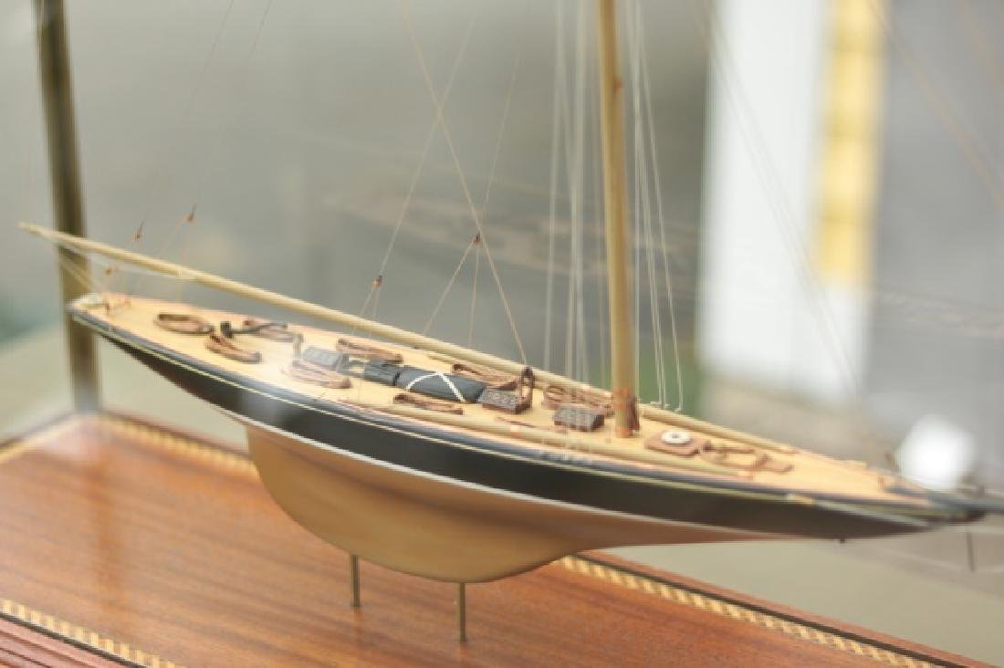 Hitchcock Yacht Model of Britannia. - 4