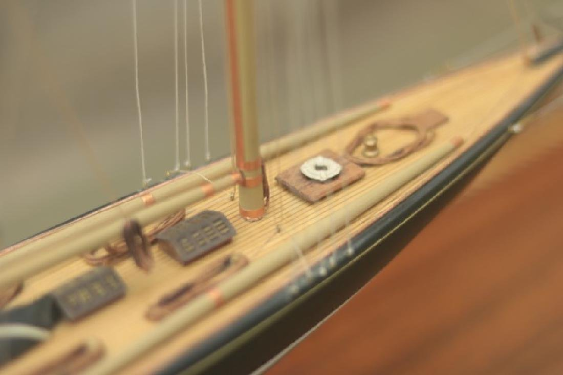 Hitchcock Yacht Model of Britannia. - 6