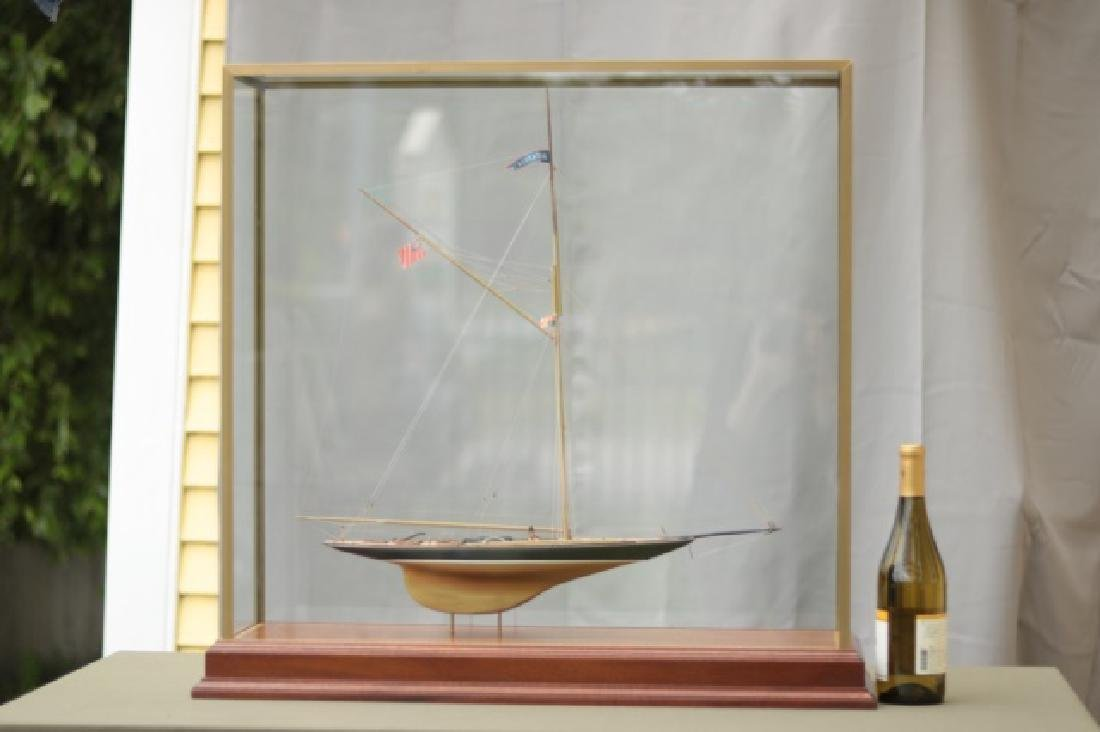 Hitchcock Yacht Model of Britannia. - 9