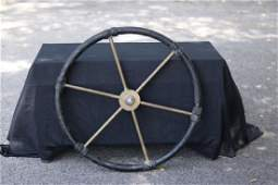 Solid Brass Ship's Wheel
