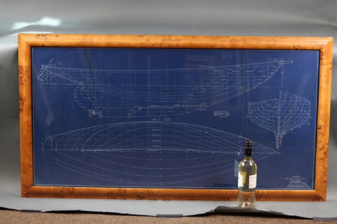 Blueprint of Alden yacht Evening Star - 3