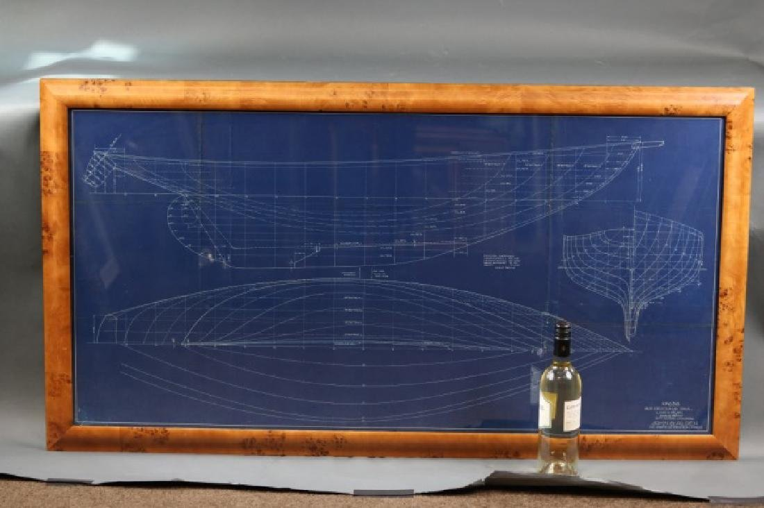 Blueprint of Alden yacht Evening Star - 4