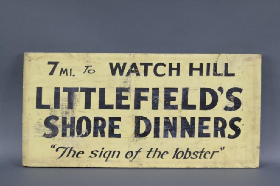 Watch Hill Rhode Island Sign