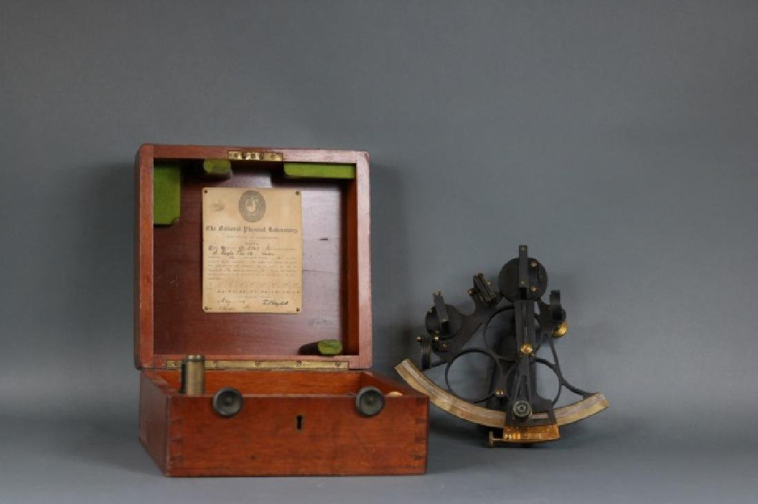 1919 Brass Ship's Sextant
