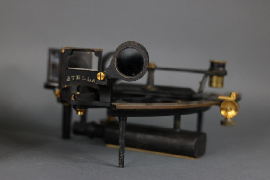 1919 Brass Ship's Sextant - 5