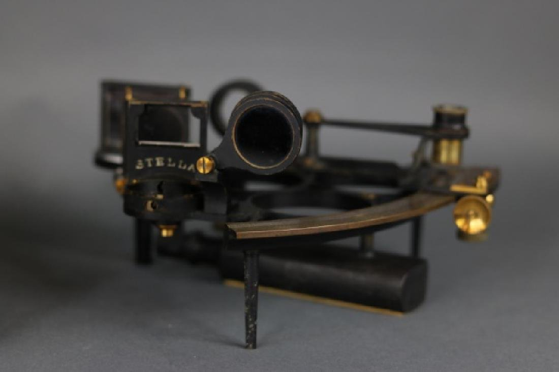 1919 Brass Ship's Sextant - 7