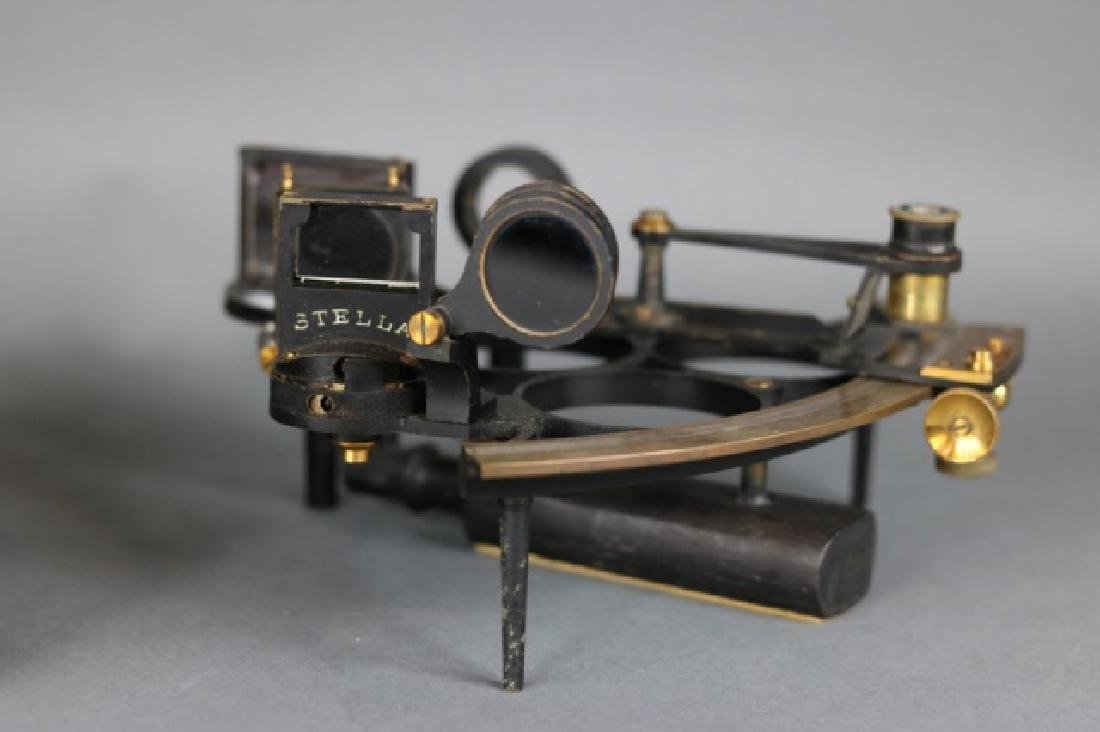 1919 Brass Ship's Sextant - 8