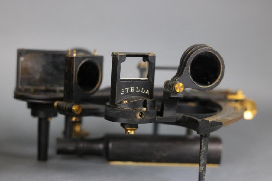 1919 Brass Ship's Sextant - 9