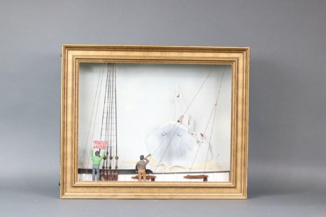 Nautical Diorama by William Hitchcock