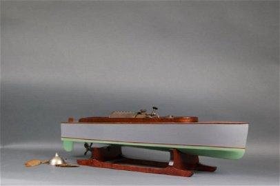 Boucher LIve Steam Launch Model