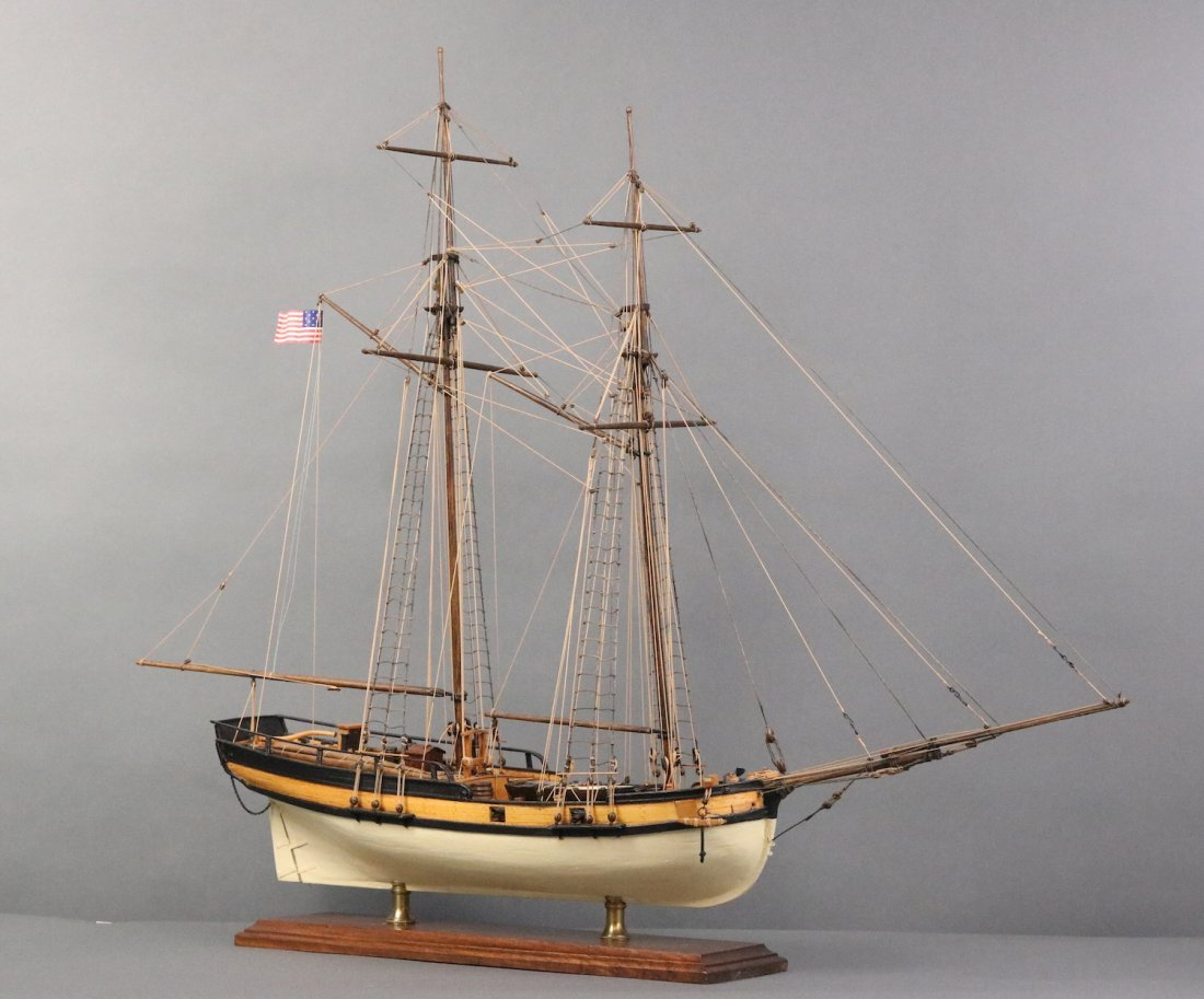 Planked model of the Hannah