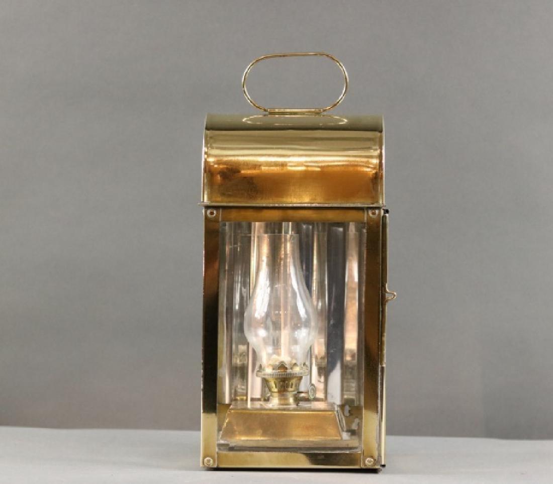 Solid Brass Cabin Lantern