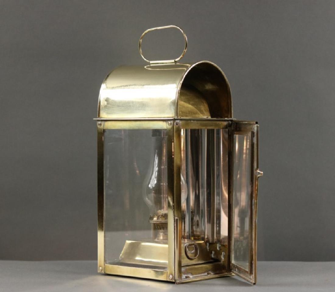 Solid Brass Cabin Lantern - 2