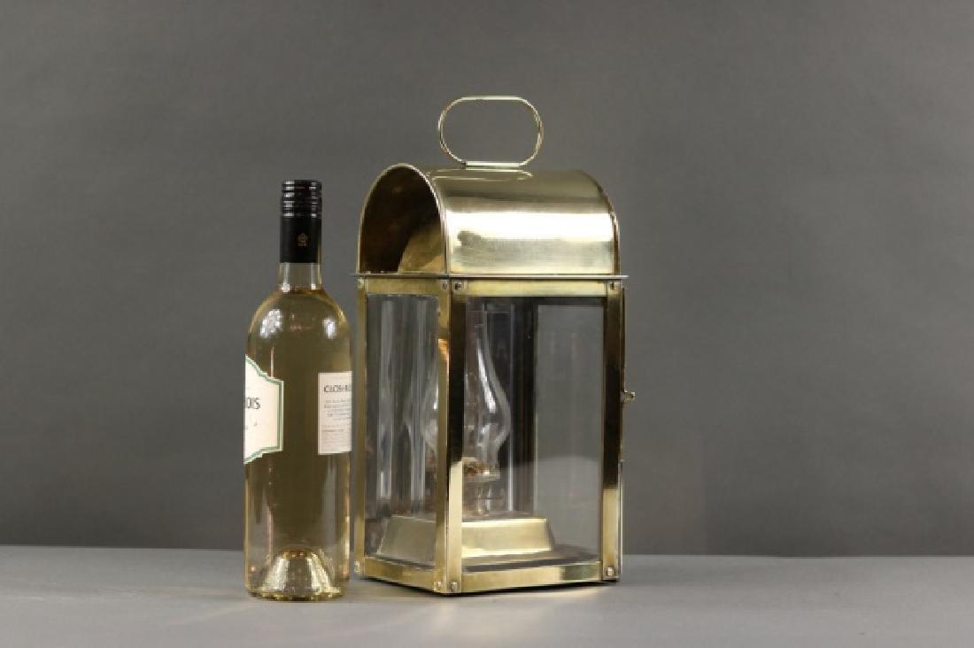 Solid Brass Cabin Lantern - 4