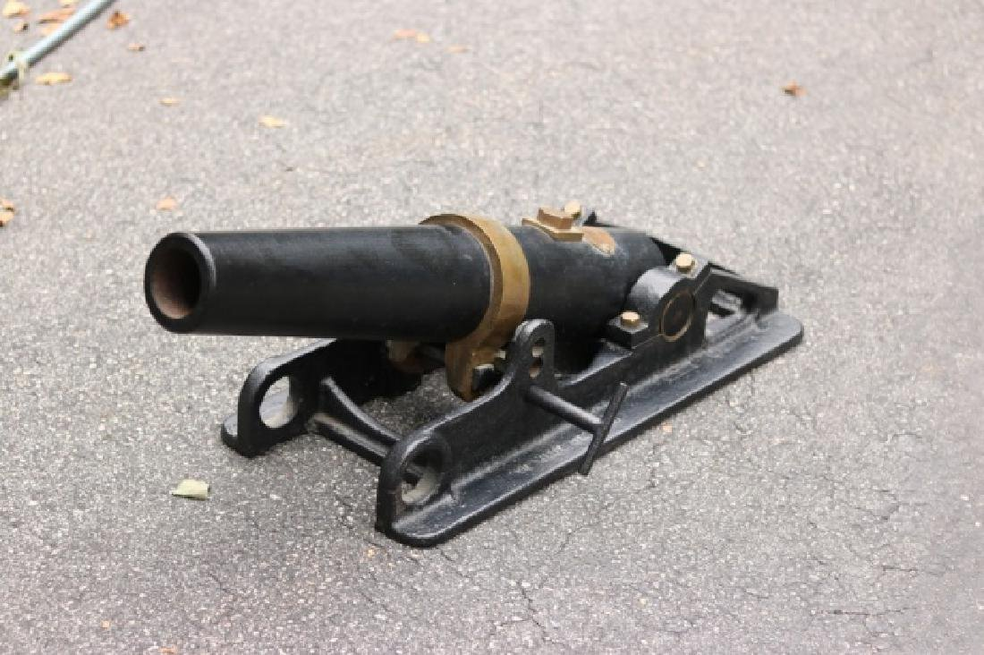 Iron Line Throwing Cannon - 2
