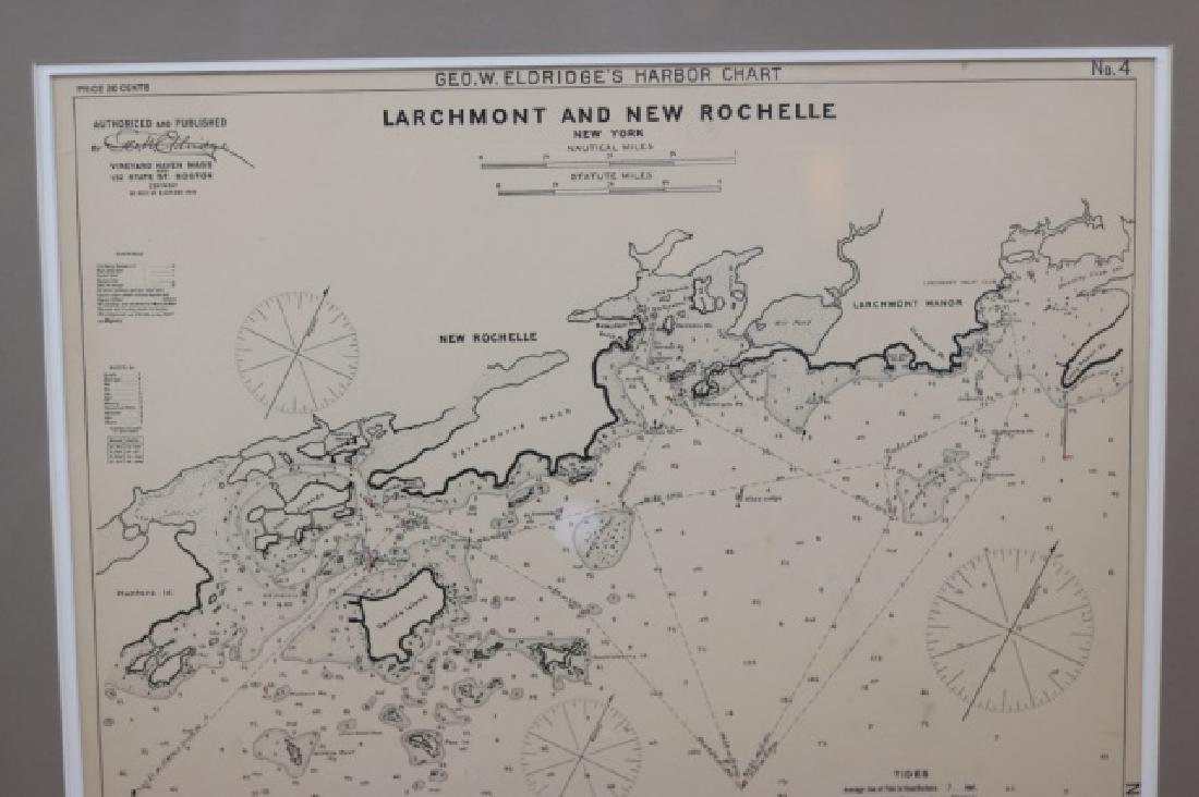1914 Chart of Larchmont and New Rochelle - 2