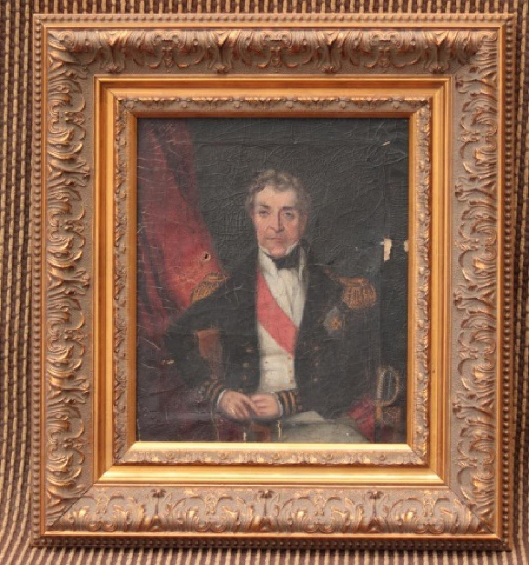 British Naval Officer Painting