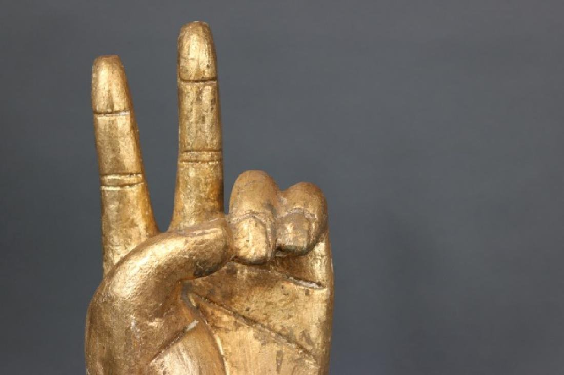 Carved Wooden Hand - 2