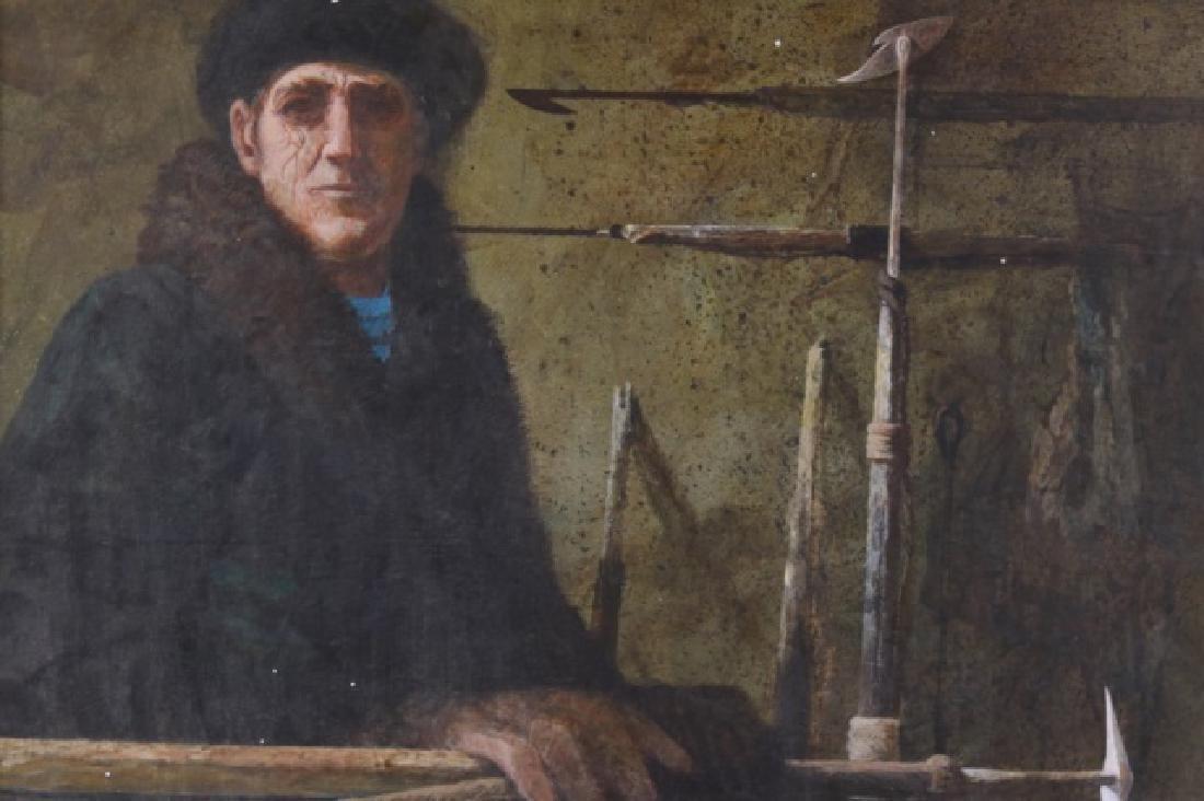Painting of a marine blacksmith - 2