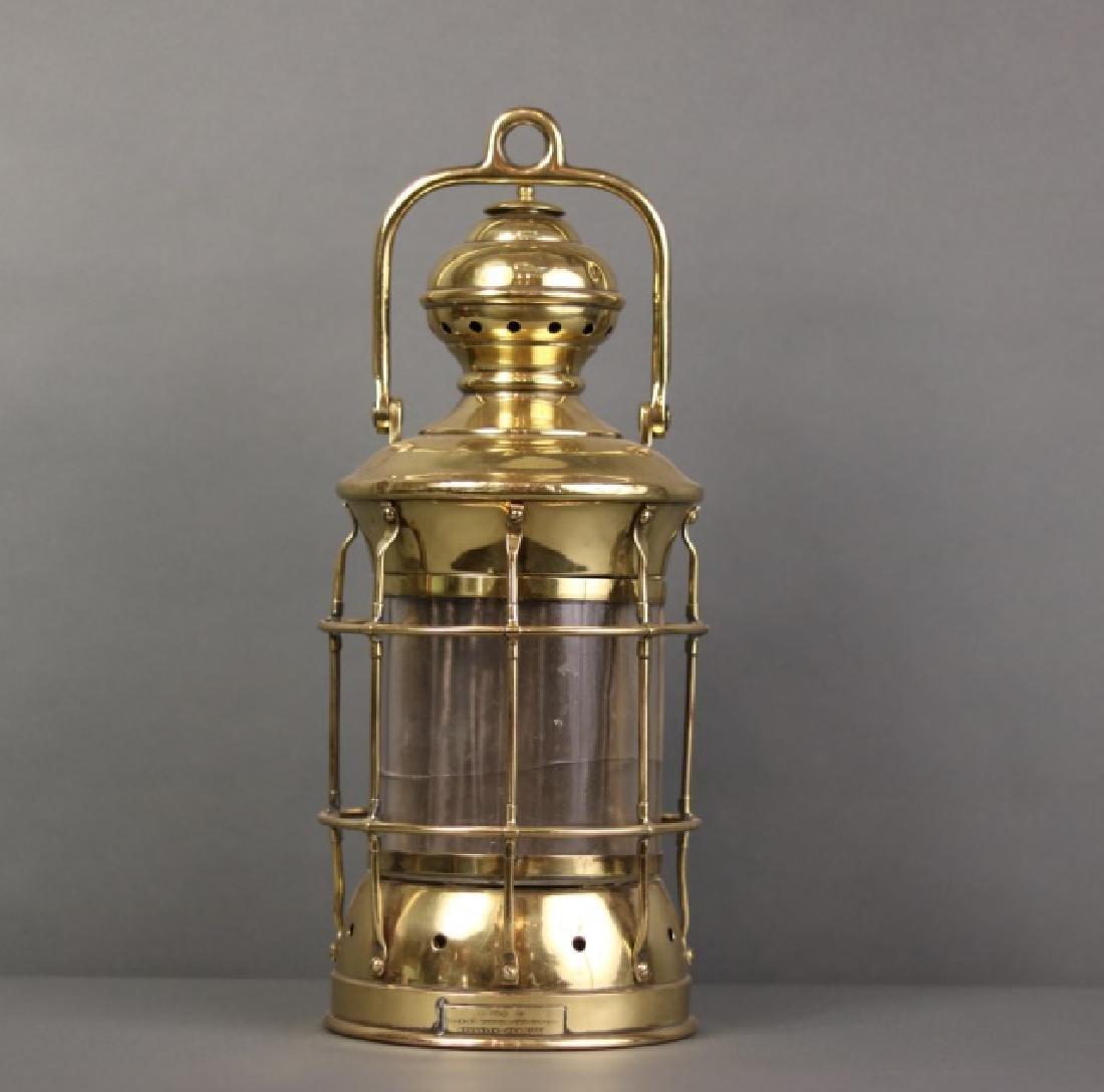 Brass Perkins Marine Lamp