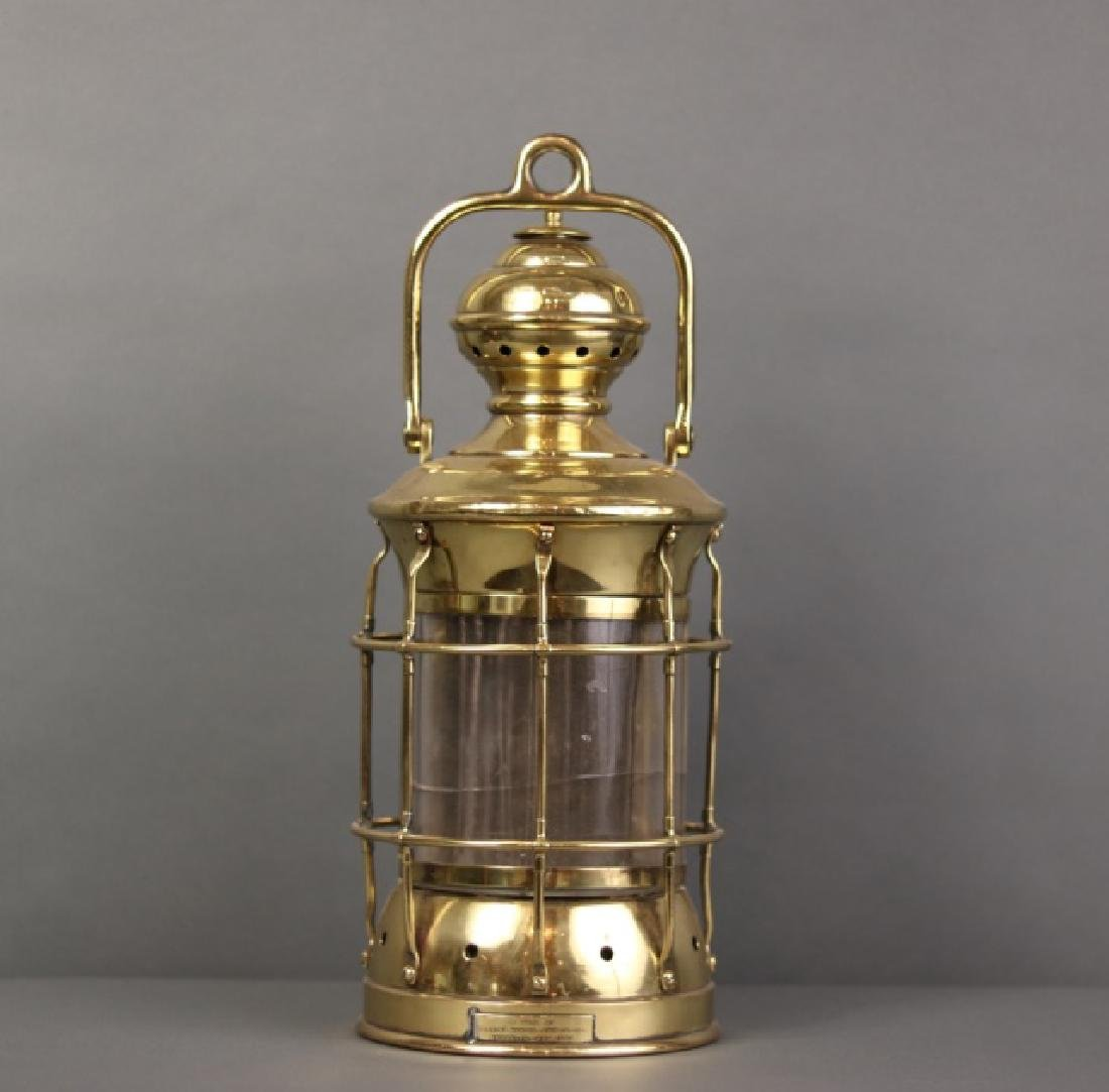 Brass Perkins Marine Lamp - 2