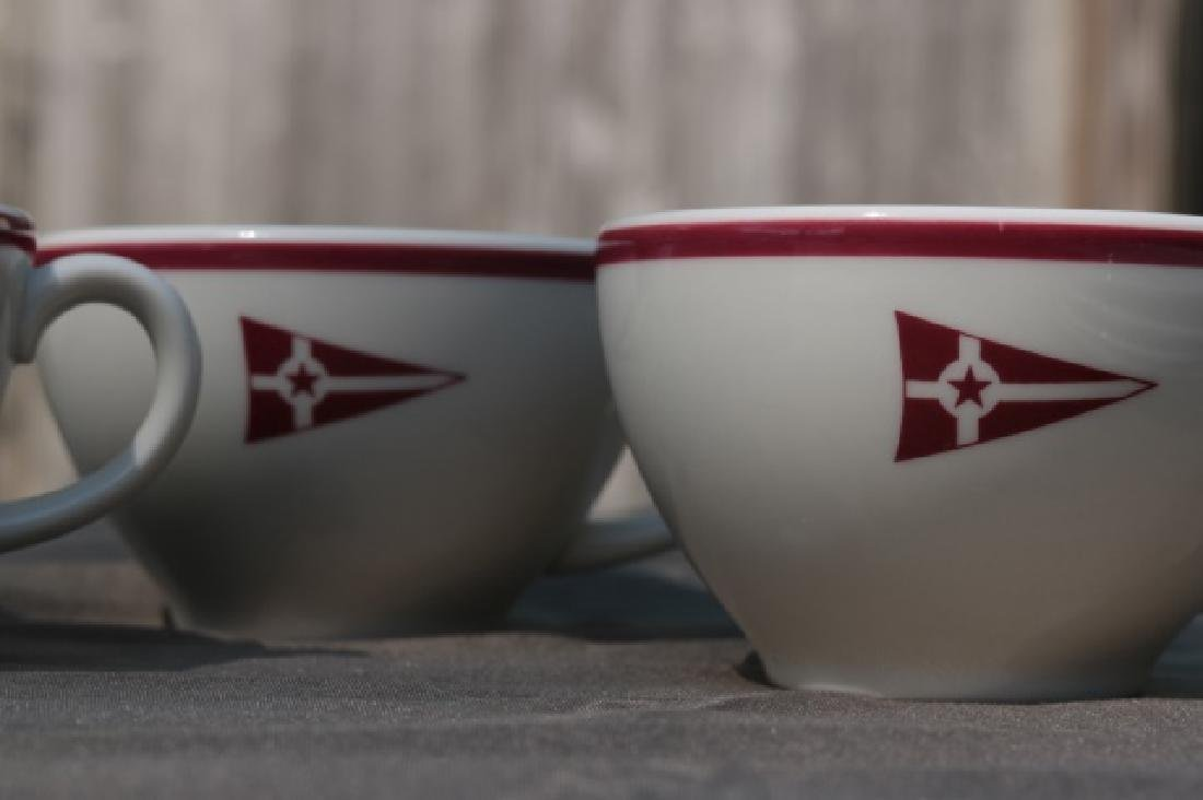 Set of 4 Cups & Saucers - 3