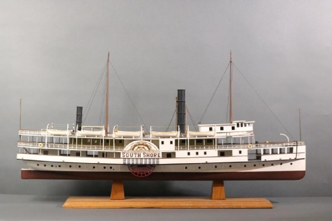 Boston Paddle Steamship South Shore