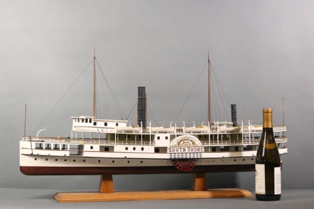 Boston Paddle Steamship South Shore - 7