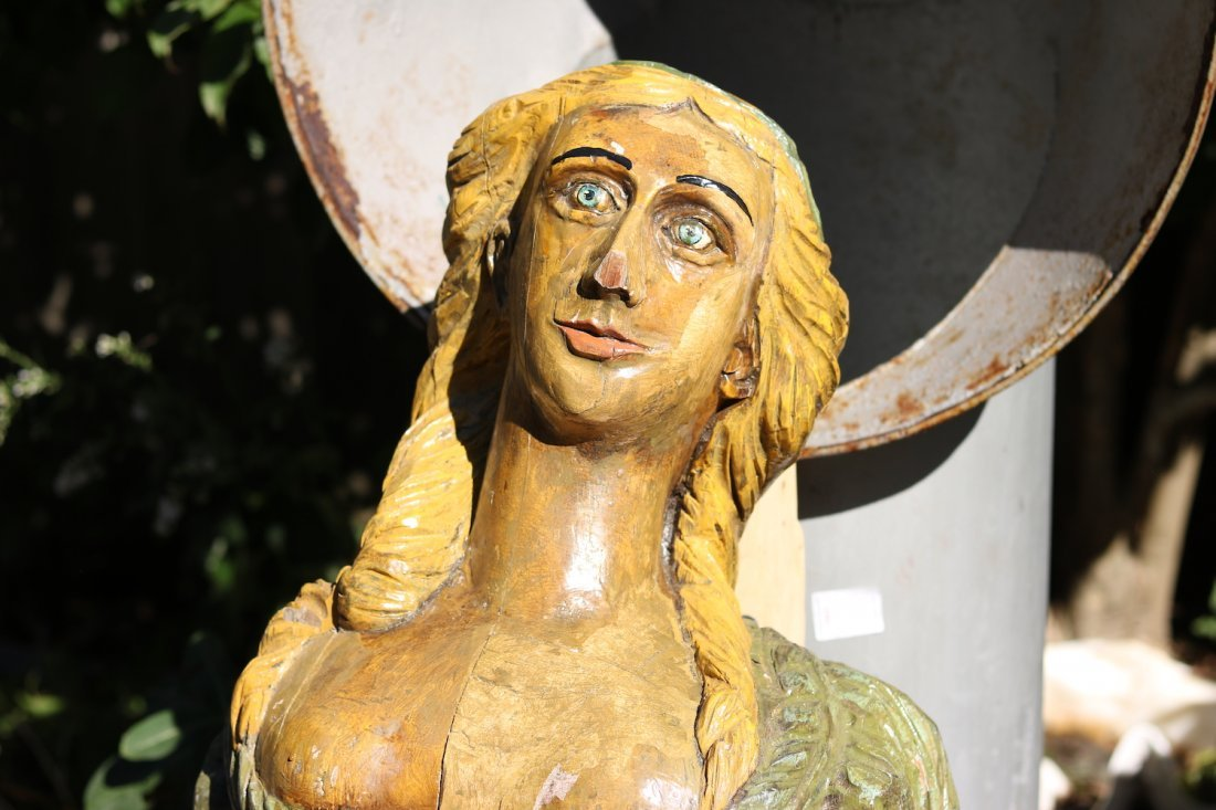 Carved Figurehead