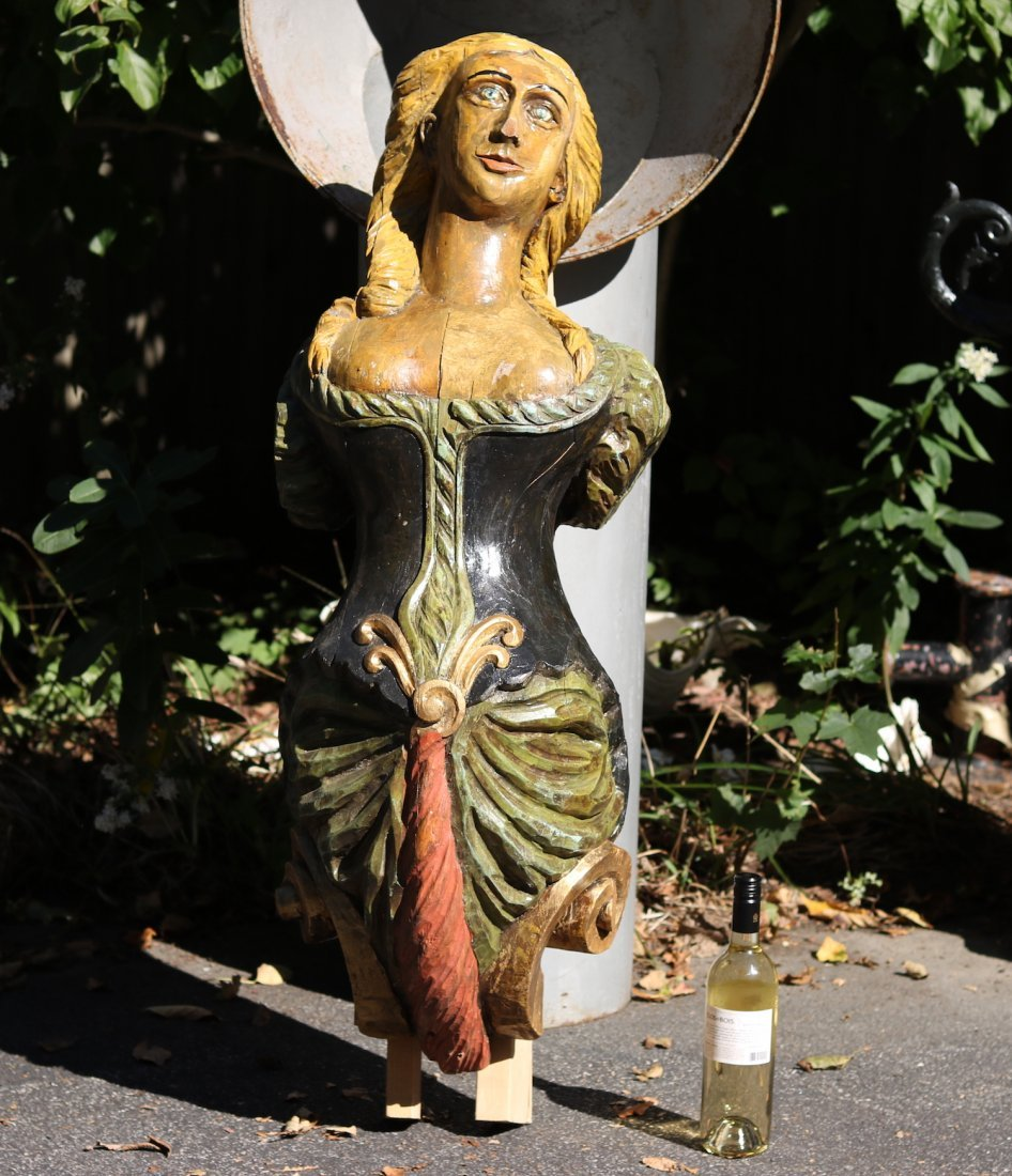 Carved Figurehead - 2