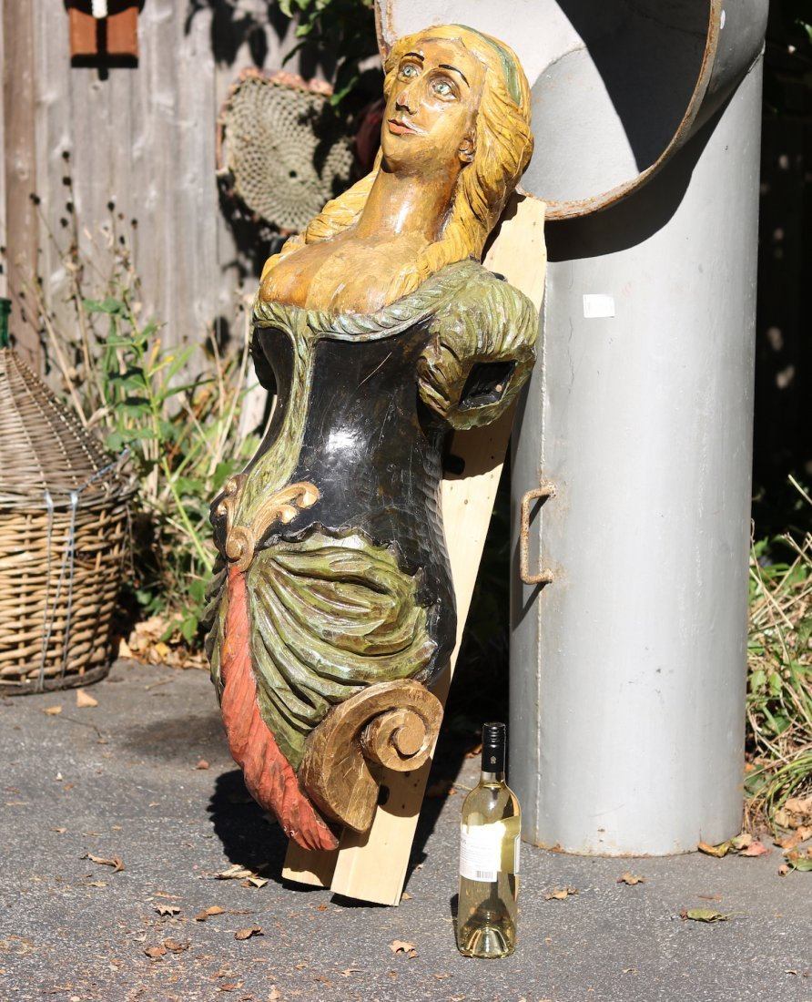 Carved Figurehead - 4