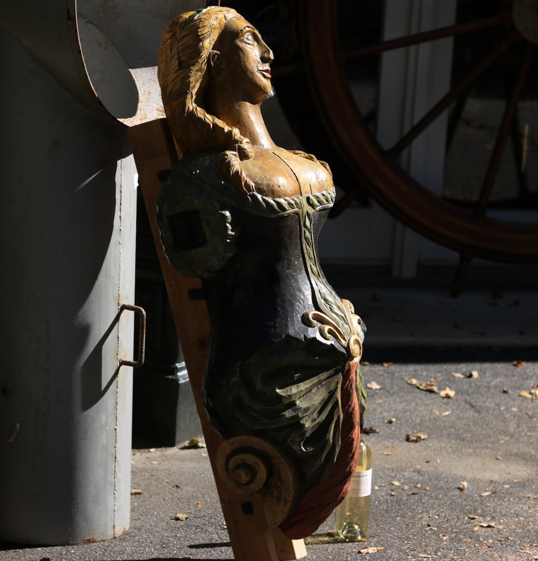 Carved Figurehead - 5