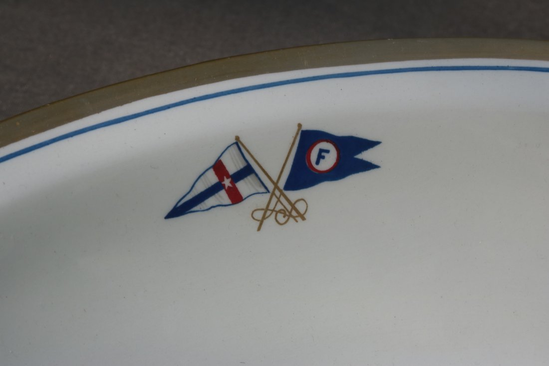 Oval Serving Bowl | Boston Yacht Club of Marblehead - 2