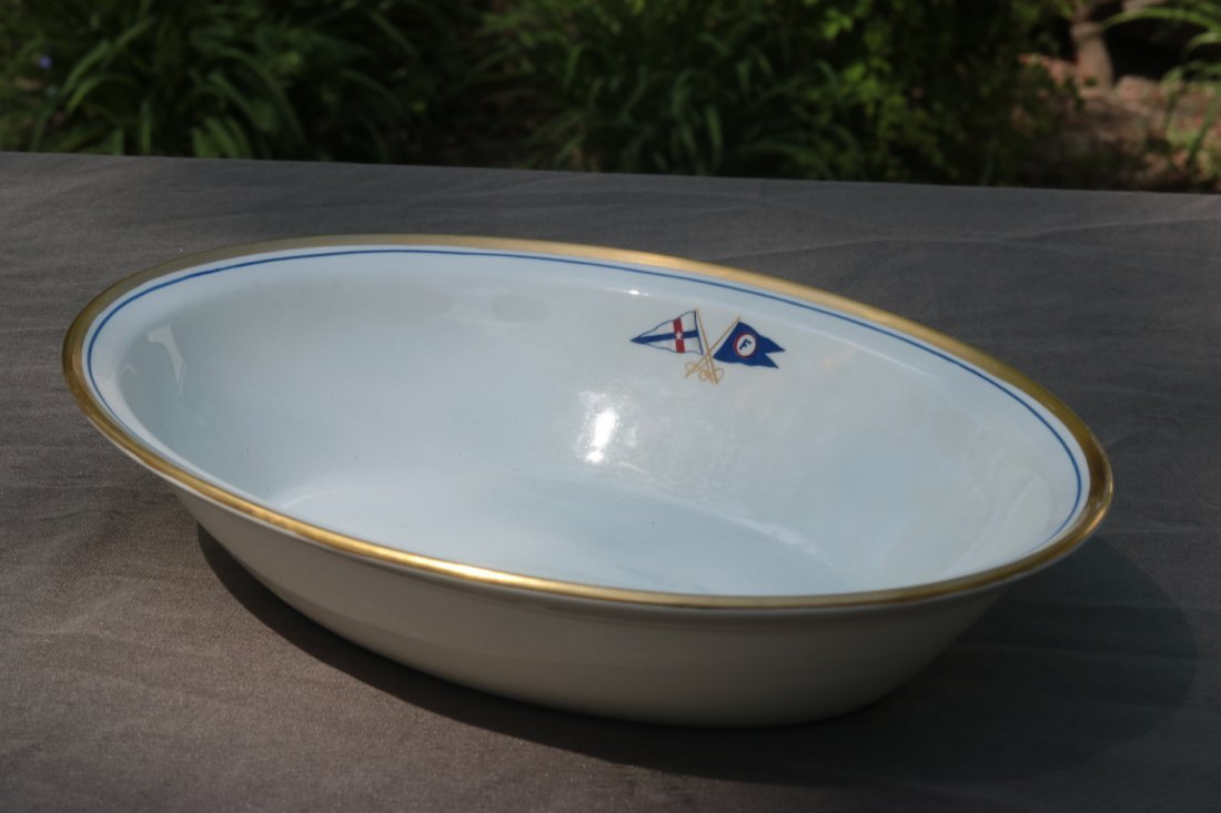 Oval Serving Bowl | Boston Yacht Club of Marblehead - 5