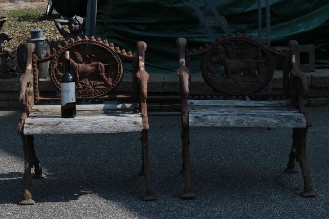 Pair of garden chairs - 3