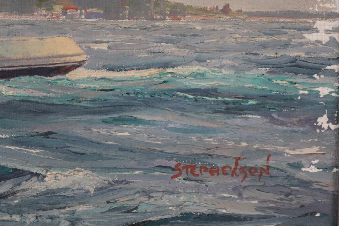 Boston built tugboat painting - 3