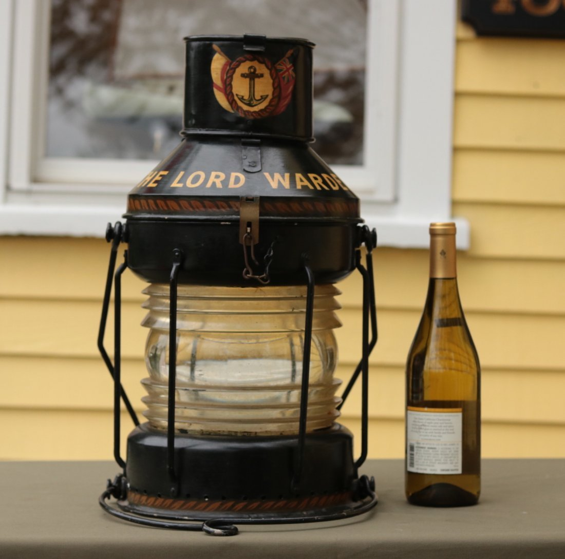Authentic Ship's Anchor Lantern - 3