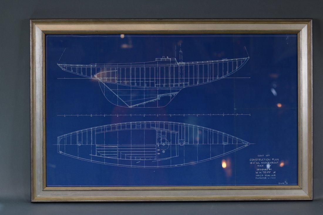 Original Yacht Plan by Tripp