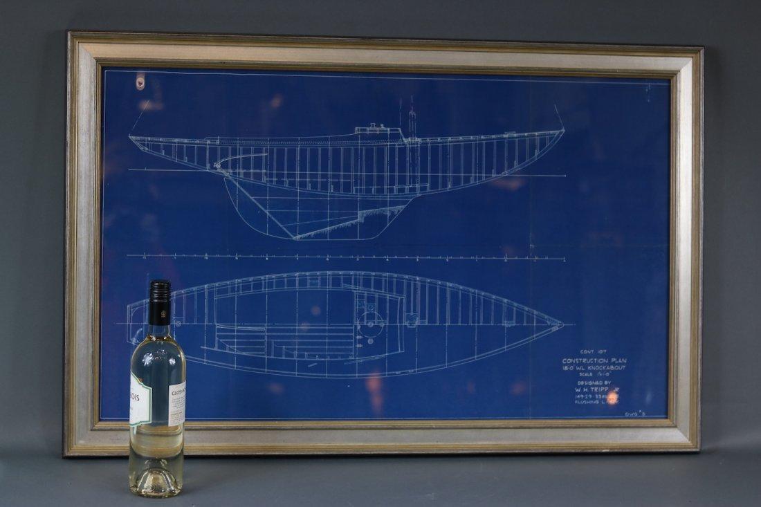 Original Yacht Plan by Tripp - 2