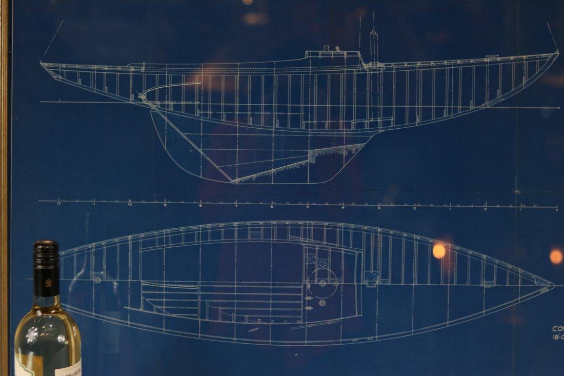 Original Yacht Plan by Tripp - 4